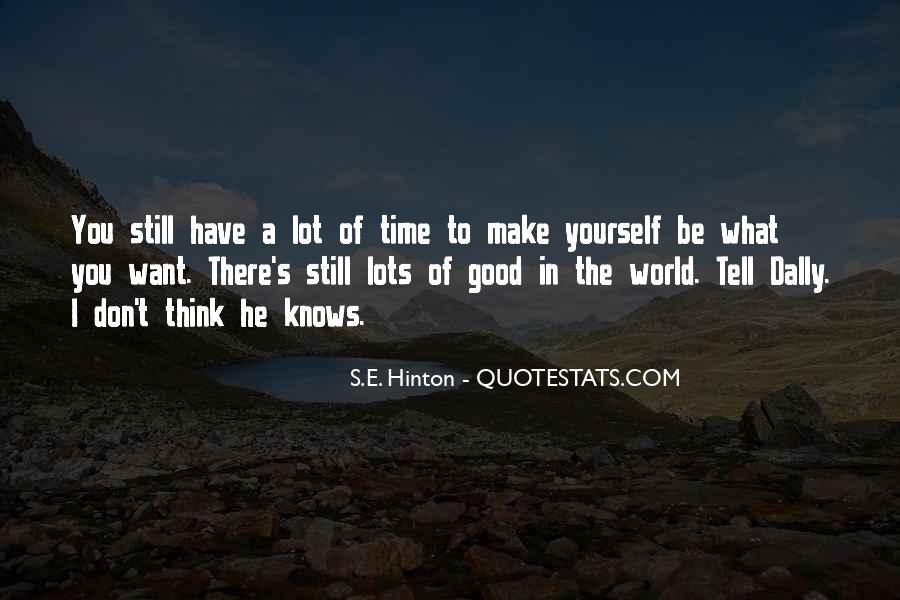 Hinton Quotes #166560