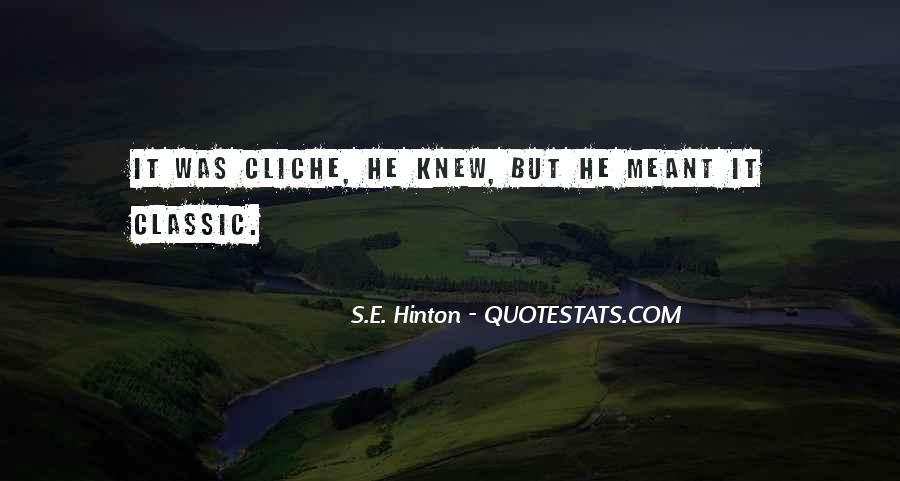 Hinton Quotes #434804