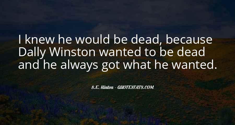 Hinton Quotes #444918