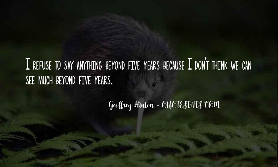 Hinton Quotes #774746