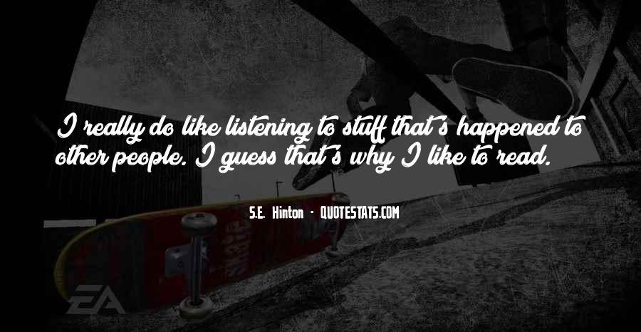 Hinton Quotes #902604
