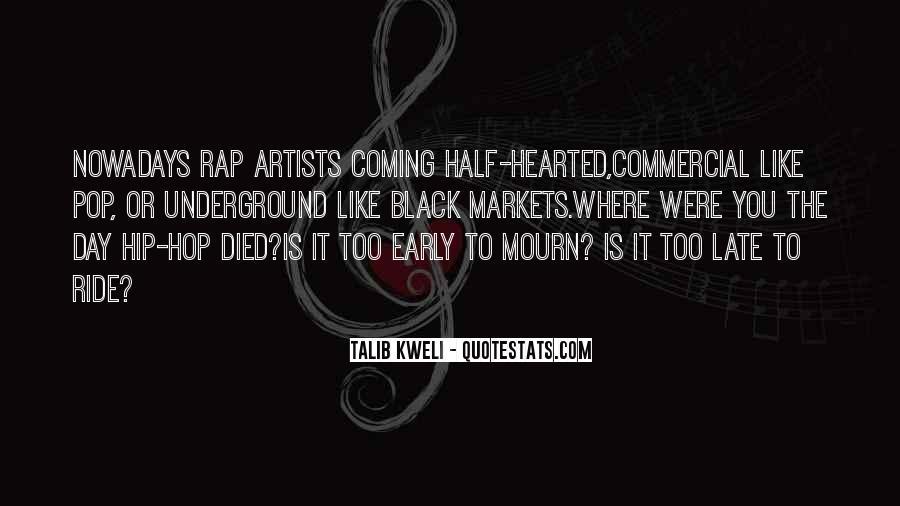 Hip Hop Rap Quotes #190322