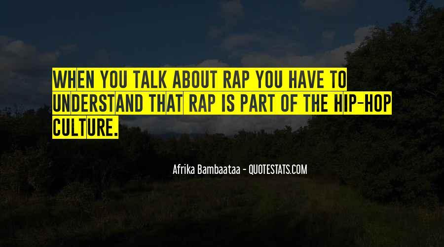 Hip Hop Rap Quotes #307027