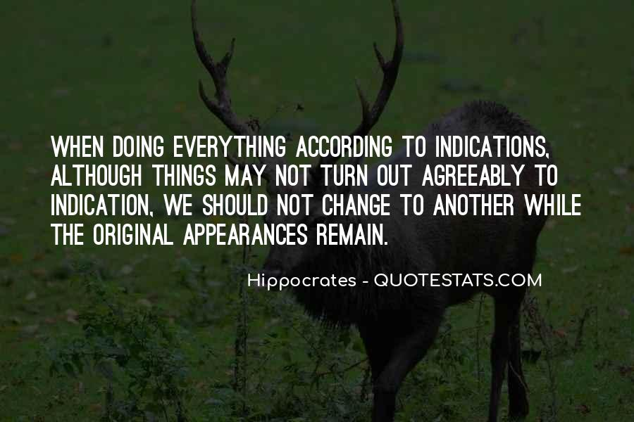 Hippocrates Of Cos Quotes #215855