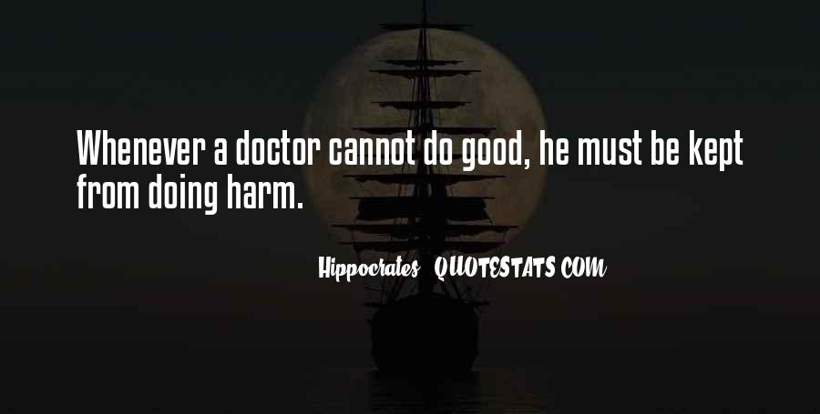 Hippocrates Of Cos Quotes #264333