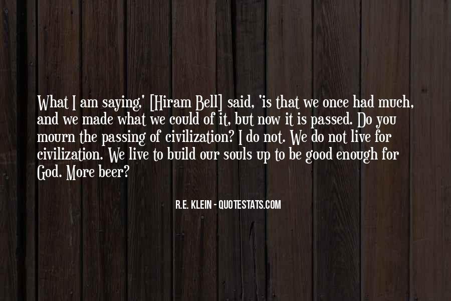 Hiram Quotes #1765792