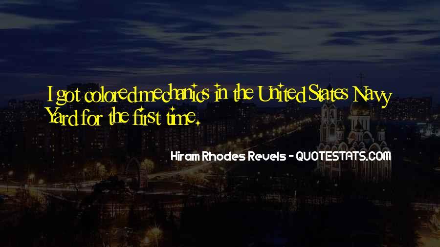 Hiram Quotes #919101