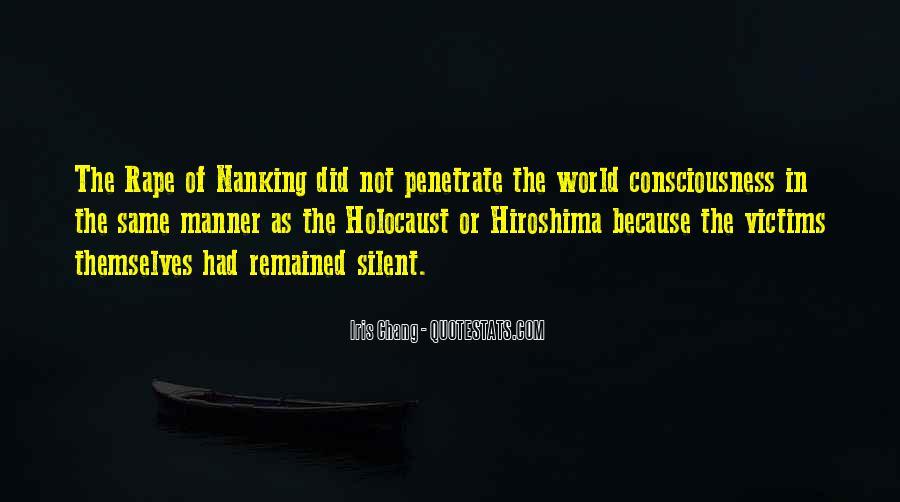 Hiroshima Victims Quotes #1406676