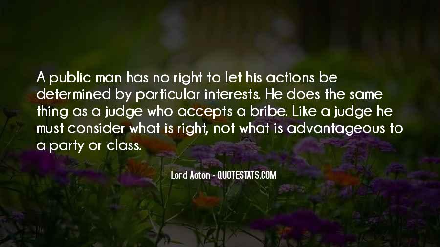 His Actions Quotes #120067