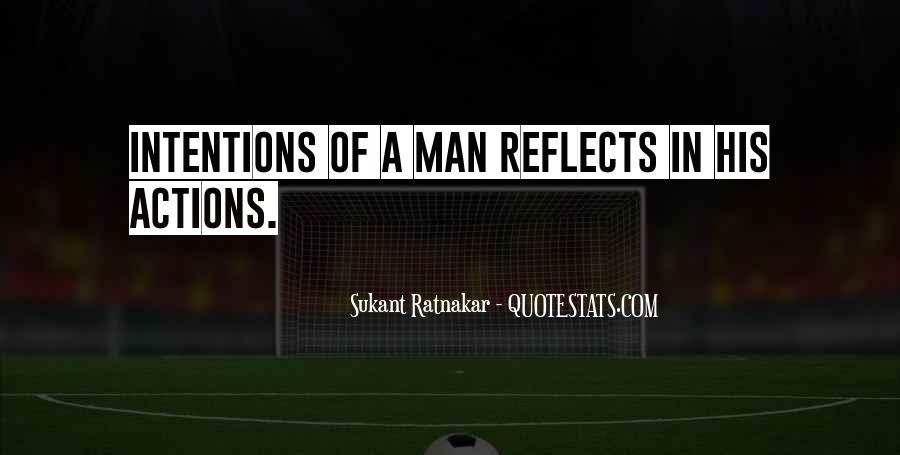 His Actions Quotes #154909