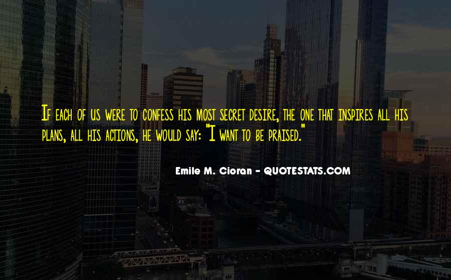 His Actions Quotes #161988