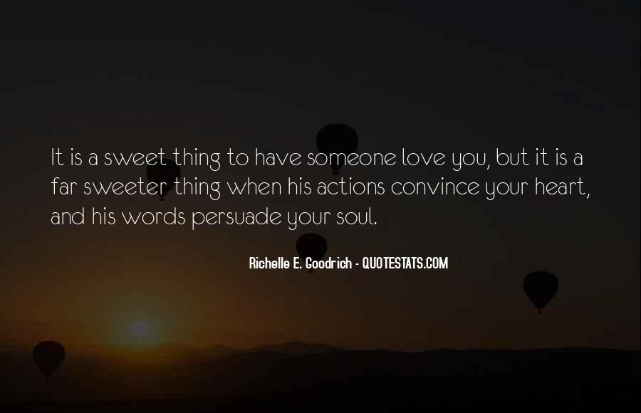 His Actions Quotes #21787