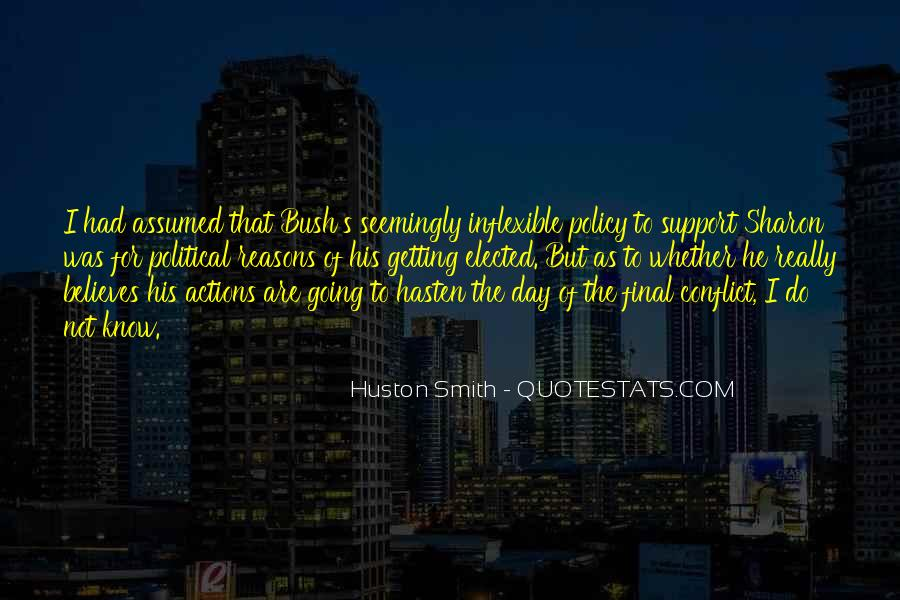 His Actions Quotes #274502
