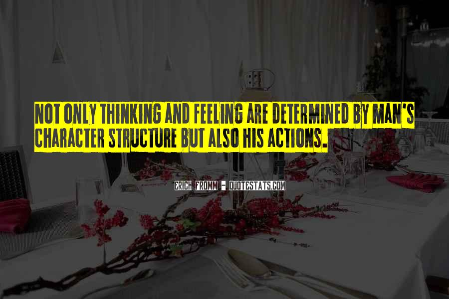 His Actions Quotes #29420