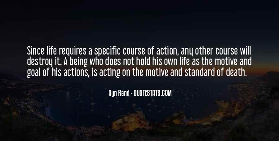 His Actions Quotes #317815