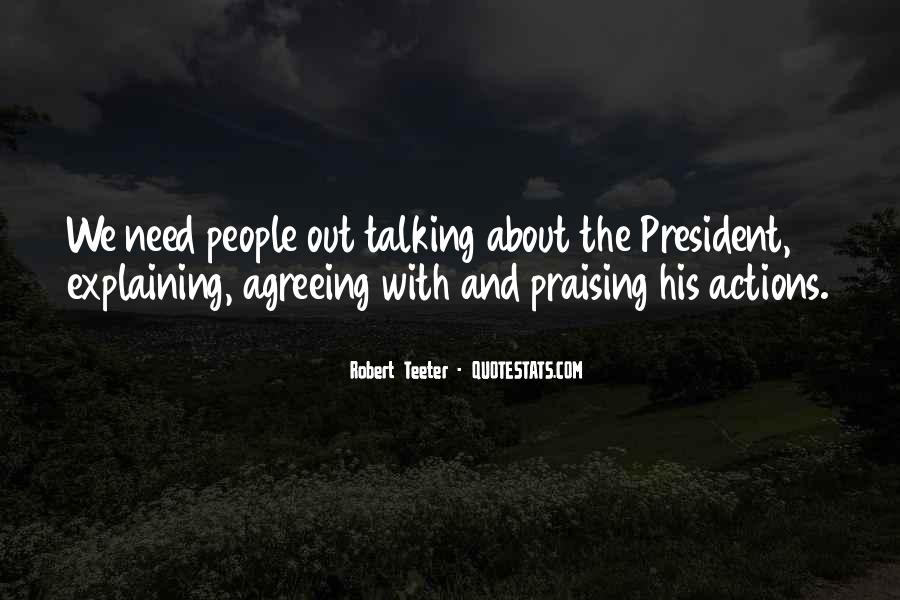 His Actions Quotes #358267