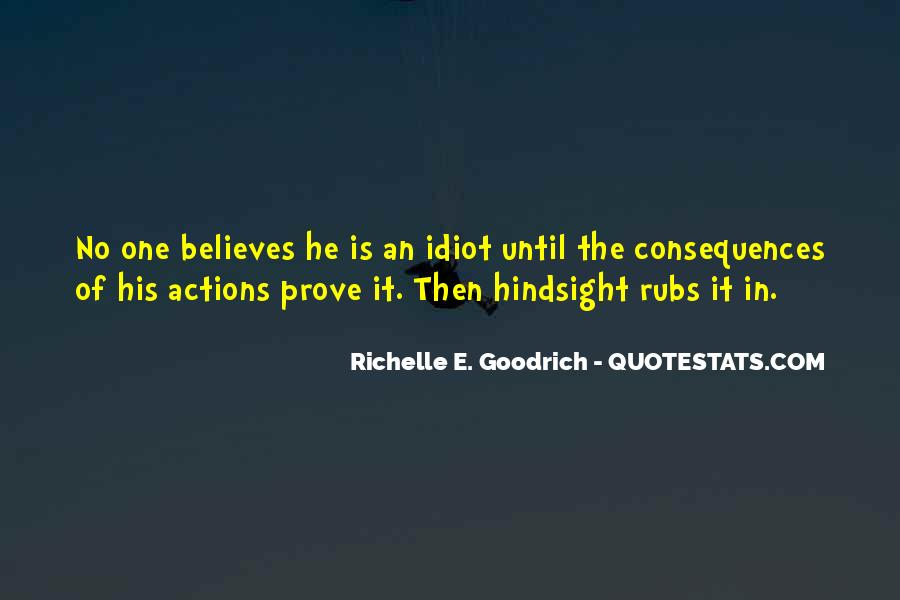 His Actions Quotes #381204