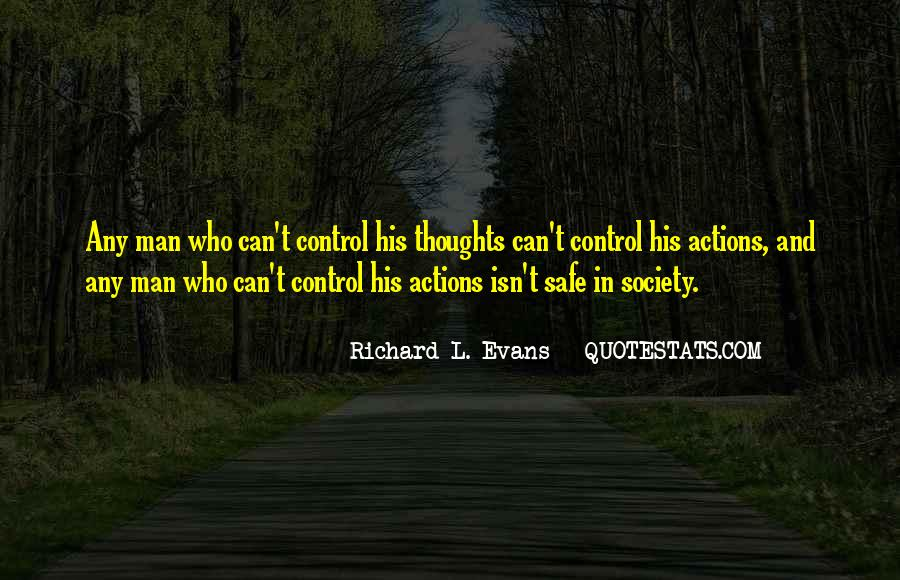 His Actions Quotes #395820