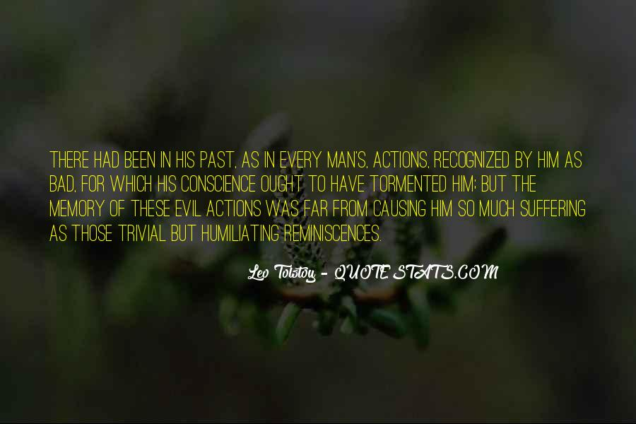 His Actions Quotes #39676