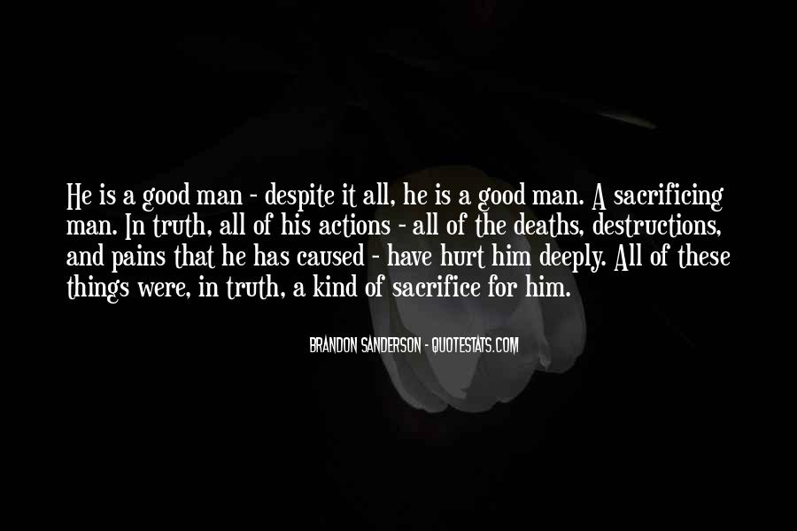 His Actions Quotes #415467