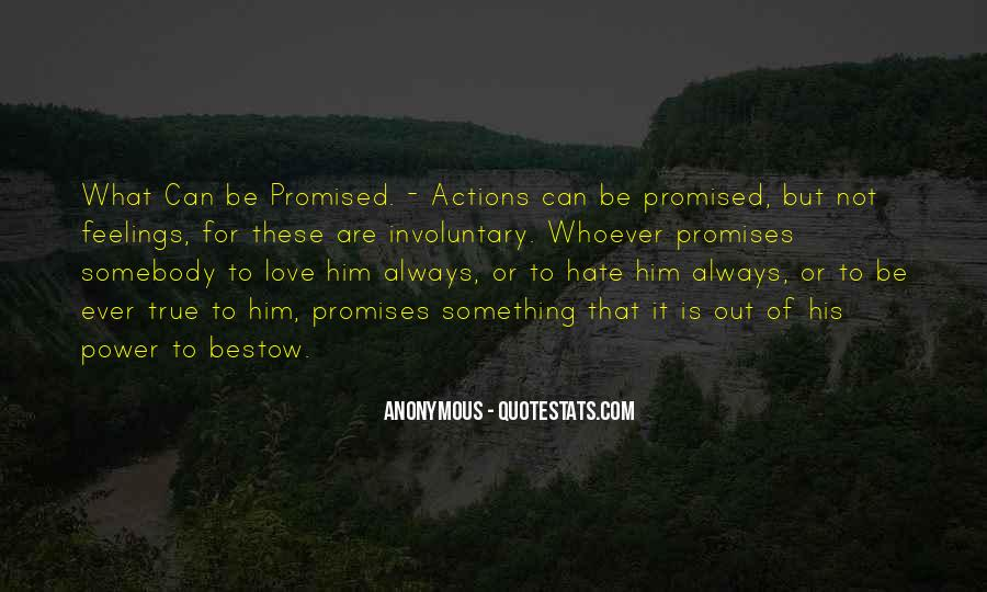 His Actions Quotes #41696