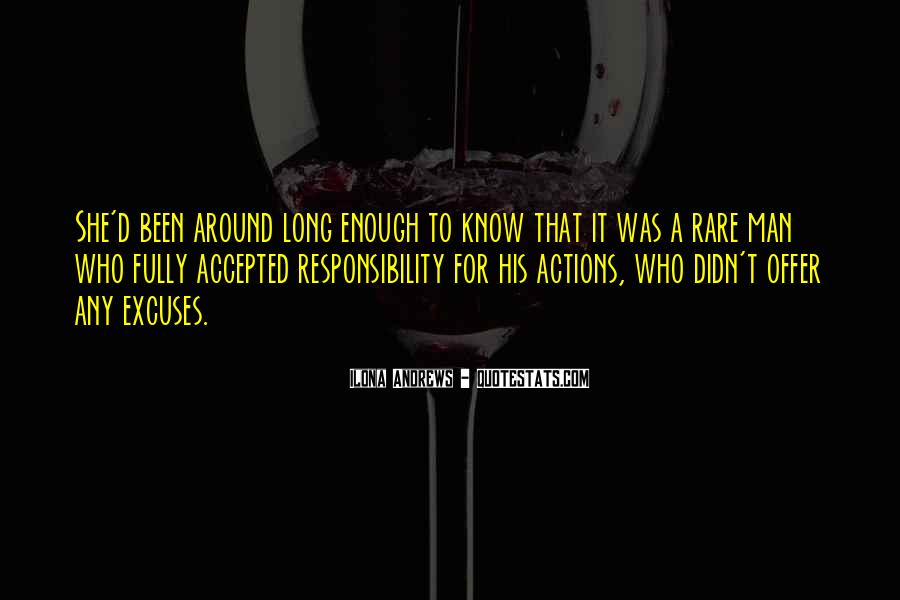 His Actions Quotes #46990