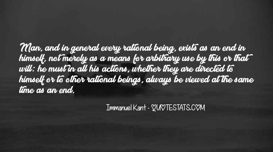 His Actions Quotes #56609