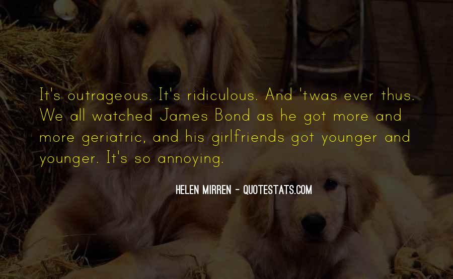 His Annoying Ex Girlfriend Quotes #1252846