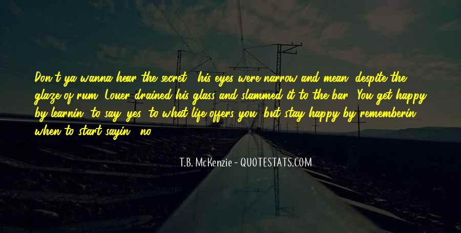 His Secret Life Quotes #340564