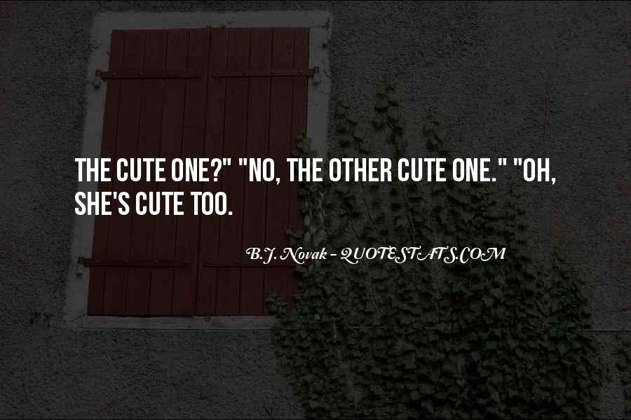 His So Cute Quotes #79488