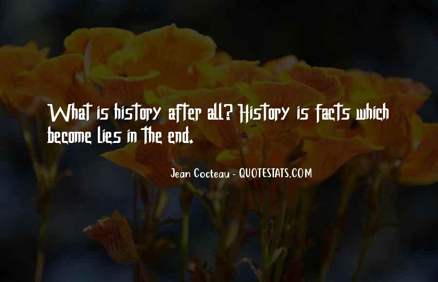 History Is Lies Quotes #1282413