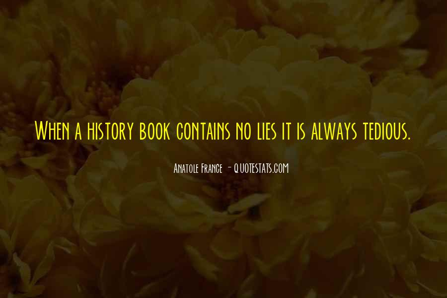 History Is Lies Quotes #1499524