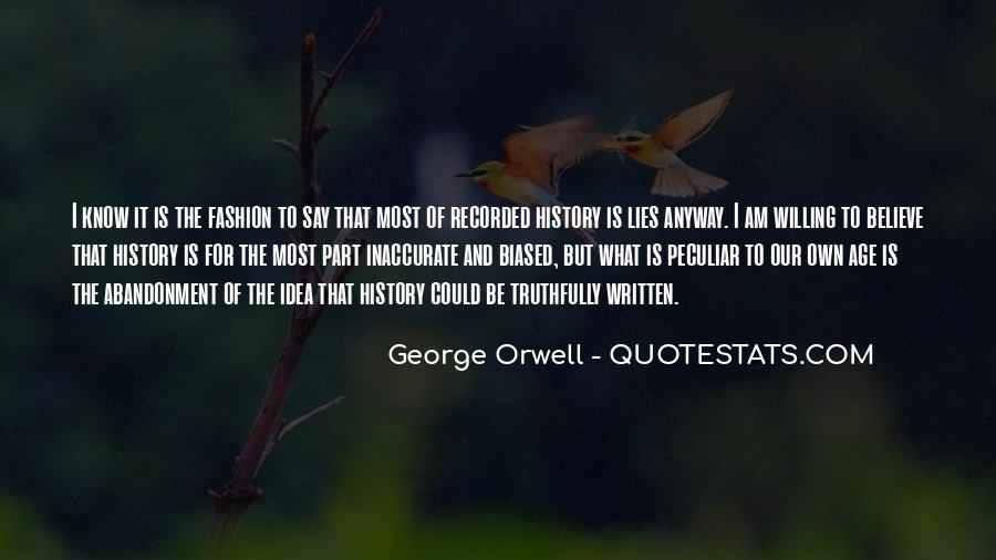 History Is Lies Quotes #1703545