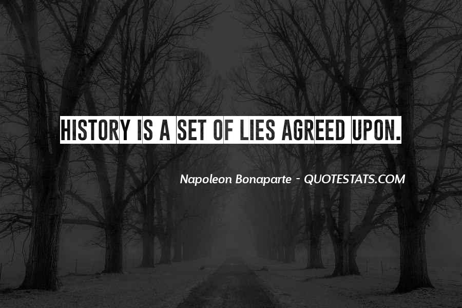History Is Lies Quotes #821501