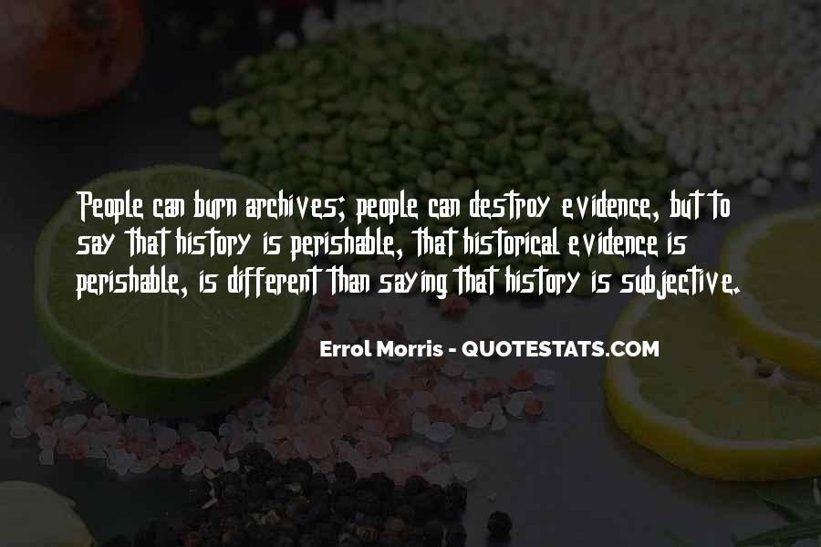 History Subjective Quotes #884108