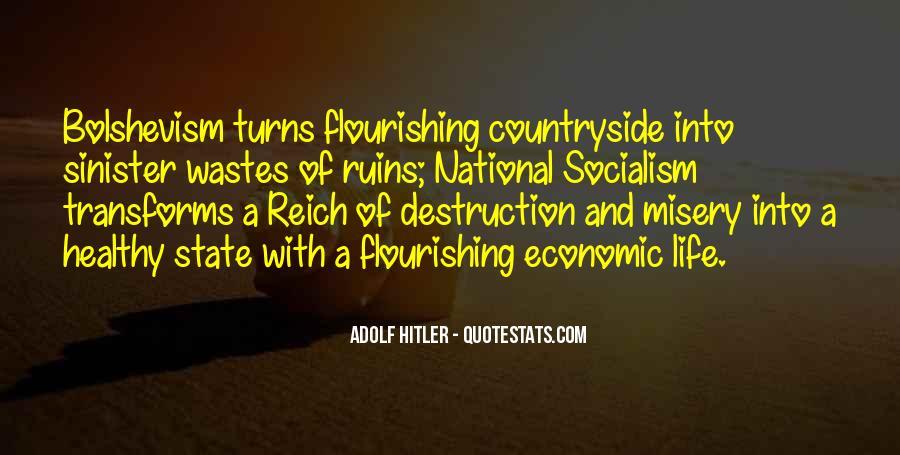 Hitler Bolshevism Quotes #1500523