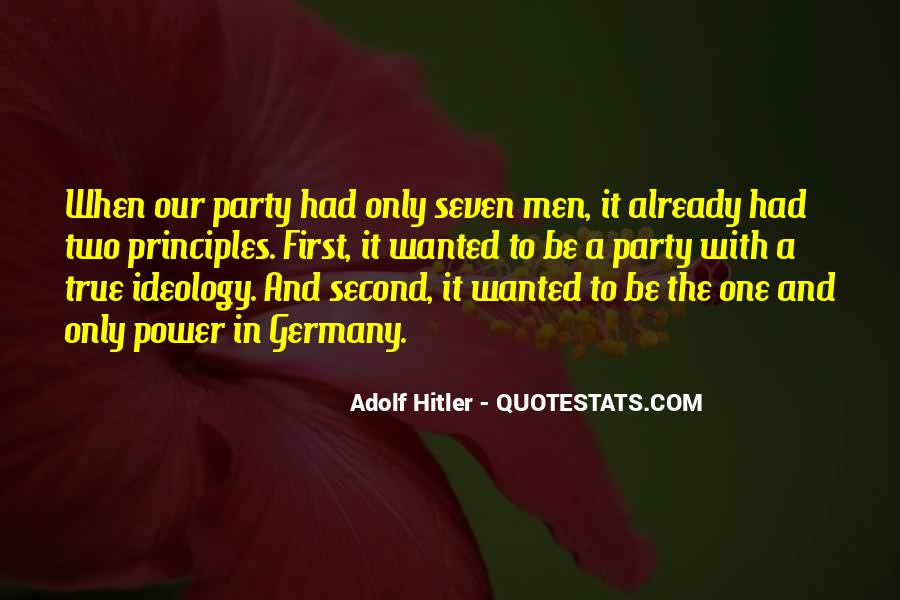 Hitler Ideology Quotes #1589578