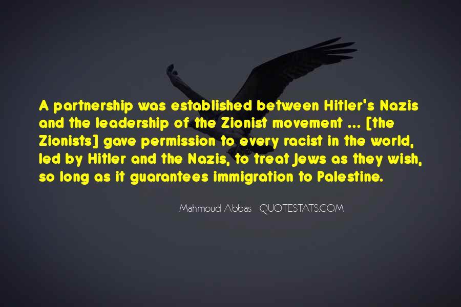 Hitler Zionist Quotes #1671698
