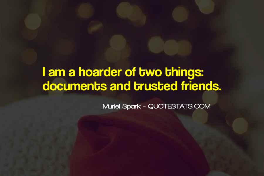 Hoarder Quotes #1037765