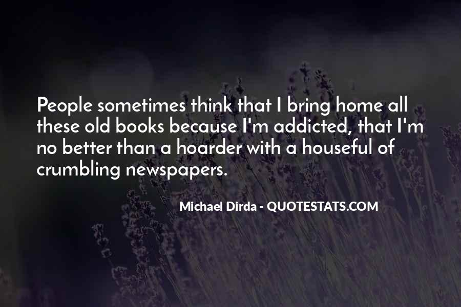 Hoarder Quotes #1208976