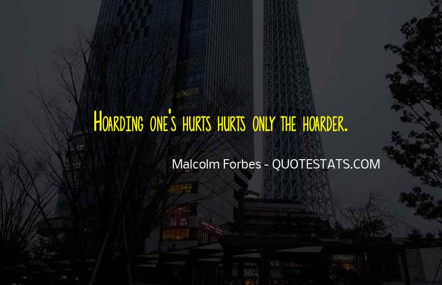 Hoarder Quotes #1395865