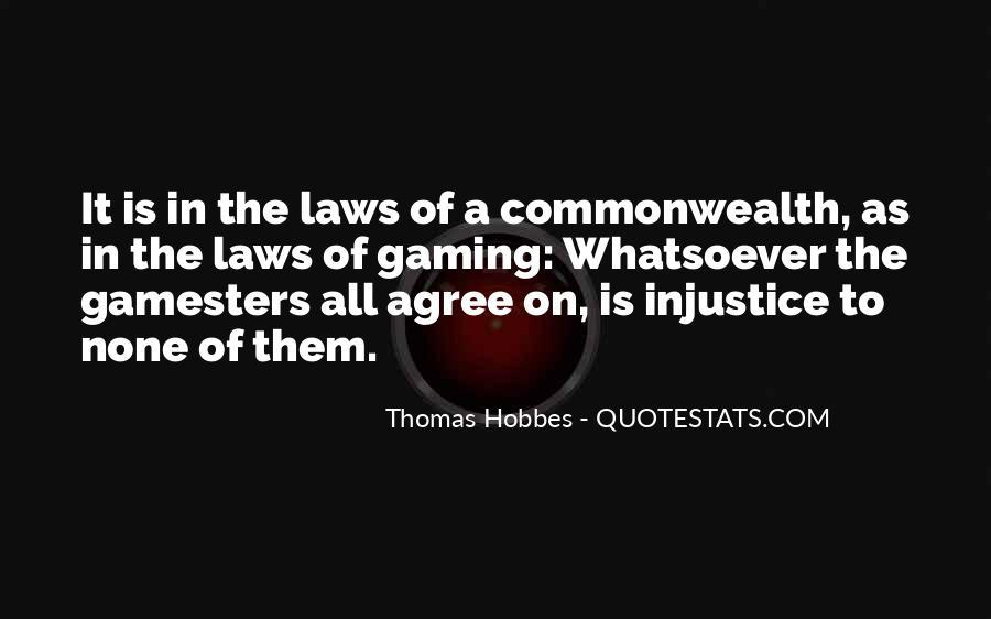 Hobbes Commonwealth Quotes #541496