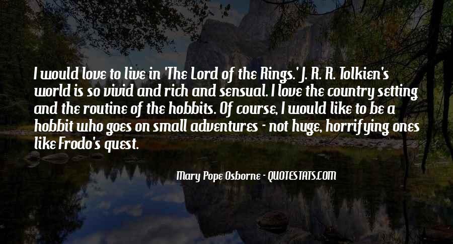 Hobbits 3 Quotes #203029