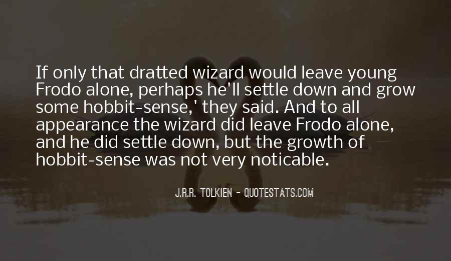 Hobbits 3 Quotes #432435