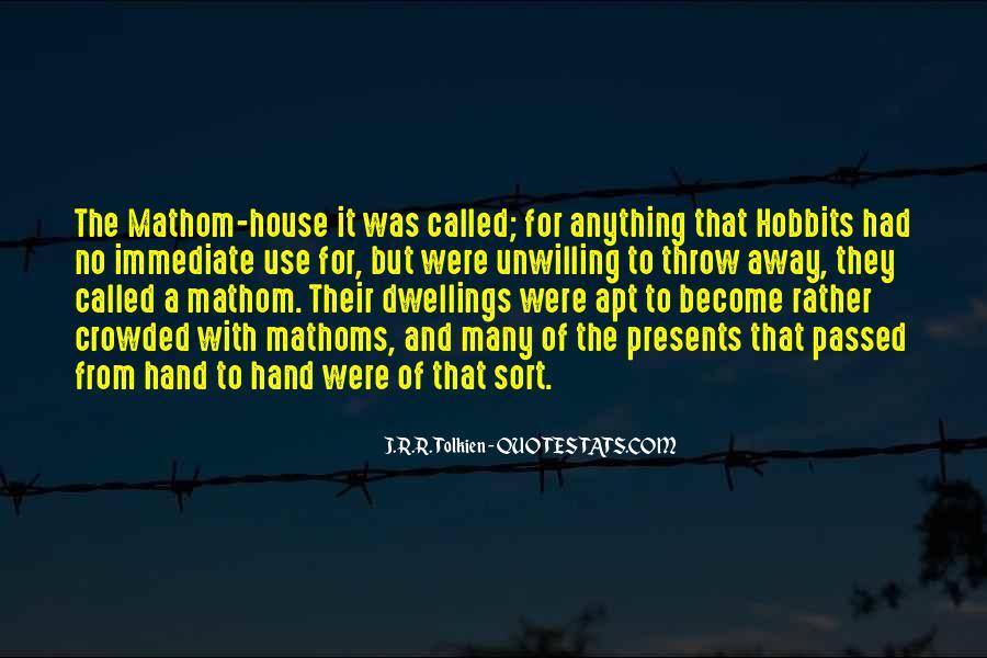 Hobbits 3 Quotes #569850