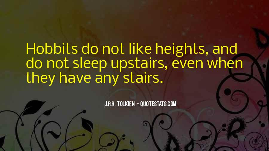 Hobbits 3 Quotes #58418