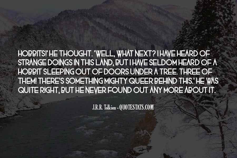 Hobbits 3 Quotes #665953