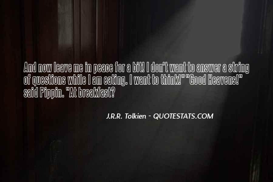 Hobbits 3 Quotes #678961