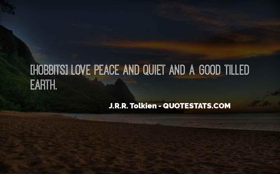 Hobbits 3 Quotes #850121