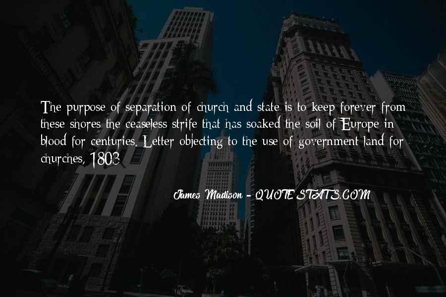 Quotes About The Church And State #107613